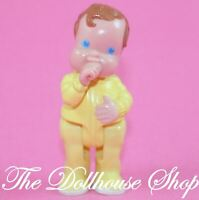 Fisher Price Loving Family Dream Dollhouse Yellow Baby Boy Girl Nursery Doll