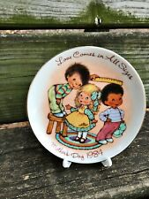 AVON fine collectibles MOTHER'S DAY collectors PLATE porcelain 1984