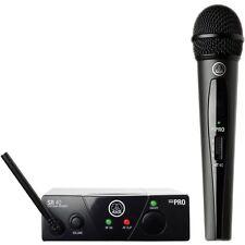 AKG WMS40 Mini Single Vocal Set Wireless Handheld Microphone System Band-C