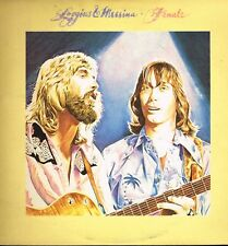 "LP 12"" 30cms: Loggins & Messina: finale. CBS 2 LP. E4"