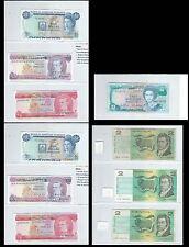 Bermuda Barbados & Australia - QEII - 10 bank notes - see 9 scans - some UNC