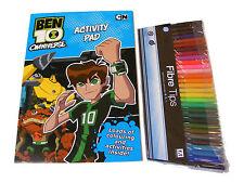 Ben 10 color / Para Colorear Actividad Libro y 30 Punta de fieltro ROTULADORES