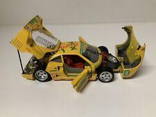 burago 1/18 Ferrari F40 Yellow totip - Please Read Description...