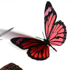 100 Pack Butterflies - Burgundy - 5 to 6 cm - Topper, Weddings, Crafts, Cards,