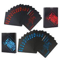 2Packs/108pcs Waterproof PVC Poker Playing Cards Magic Tricks Tool
