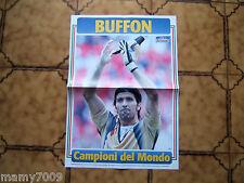 POSTER=BUFFON (ITALIA) CAMPIONE DEL MONDO 2006=CM 50X35