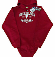 Philadelphia Phillies MLB Authentic Collection Pullover Hoodie Big & Tall