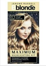 Jerome Russell Bblonde Highlighting Kit No. 1 FOR LIGHT TO DARK BROWN Maximum !