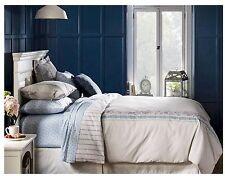 New BEEKMAN 1802 FARMHOUSE EMMA Gray Purple Blue Floral Duvet Set - Full/Queen