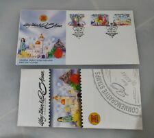 1992 Malaysia ASEAN 25th anniversary stamp FDC with brochure