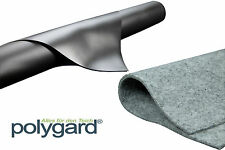 Polygard - Teichfolie 1 mm schwarz + Vlies 300 g -Grundpreis:5,19 �'�/m²
