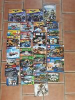 LEGO INSTRUCTION BOOKLETS inc. STAR WARS DC NINJAGO BIONICLE ECTO-1 CITY