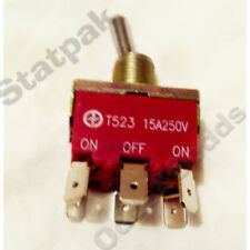 SWITCH TOGGLE15A 240V ON/OFF/ON (40256)