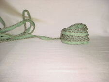 16Y D'KEI C1411 MINT GREEN DOUBLE LIP CORD DRAPERY UPHOLSTERY TRIM