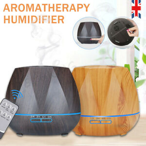 Ultrasonic Fresh Air Purifier Ioniser Humidifier Diffuser Aroma Colour Changing