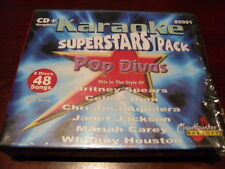 CHARTBUSTER KARAOKE BOX SET 85001 POP DIVAS 8 CD+G 48 TRACKS
