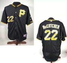 Andrew McCutchen Pirates Majestic Cool Base Jersey Size 56 Authentic Collection