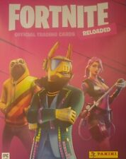 PANINI FORTNITE RELOADED 2020 EVENT SET GLOWIN' POSTER MOVIN' TRADING CARDS
