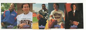 1991 Pro Line Portraits Complete Football Set 1-300 Walter Payton, Belichek RC