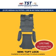 MOULDED CAR CARPET (D13P) NISSAN GQ PATROL LWB 88-98 COMPLETE PACK