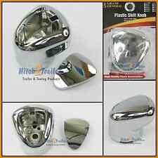 Gearshift knob 13/18 Eaton Fuller chrome plastic Kenworth Freightliner 93190