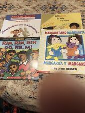 Lot of 5 Children's Books in Spanish Great Condition