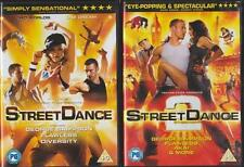 STREETDANCE 1 & 2 [One,Two] George Sampson*Flawless*Diversity Musical DVD *EXC*