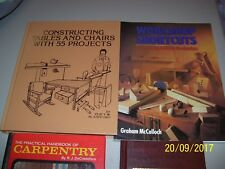 CARPENTRY, WOODTURNER, 55 PROJECTS, JIGS & AIDS FOR WOODWORKERS, F PAIN, FS
