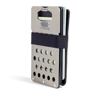 Vargo Titanium Hinge Wallet