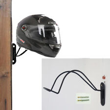 Iron Motorcycle Helmet Holder Hook Rack Storage Wall Mounted Display Hanger Moto