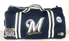 New Era Milwaukee Brewers 1970 Heritage Patch Small Duffel Bag Detachable Strap