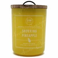 DW Home Large 15.0oz Candle 56 Hour Large Double Wick - Shocking Pineapple Scent