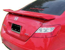 Fits 2006 - 2011 Honda Civic 2 Dr OE Style Painted Spoiler Wing Rallye Red R-513