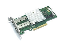 Fujitsu D2755 -A11 10Gigabit 10GBe SFP+ Dual Port Server NIC Intel X520-DA2 LP