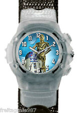STAR WARS R2-D2 wrist watch with light
