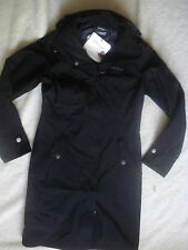 WOMENS MARMOT DESTINATION COAT TRAVEL JACKET BLACK XS NEW