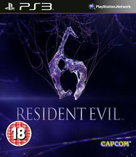 Resident Evil 6 PS3 *in Excellent Condition*