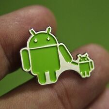 Google Badge Android Pin Brooch Fashion Jewelry Collectible Walk with a Child