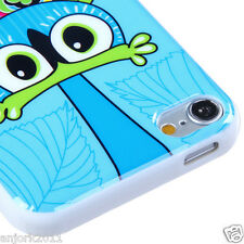 Apple iPod Touch 5 Candy Skin Tpu Gel Cover Case Accessory Blue Owl