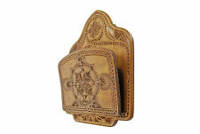 Antique Frisian Chip Carved Magazine / Paper / Mail Rack, Dutch.