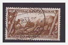 MARCIA SU ROMA  - 1932 Cent . 5  Usato