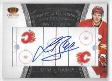 12 13 Crown Royale Sven Baertschi Scratching the Surface Auto Calgary Flames