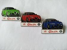 Rare Spilla Pins série de 3 Alfa Roméo Corse Giulia GTA 110 anniversaire