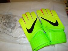 Neon Adult Unisex 10 Nike goal keeper gloves Nikegk Gs0330 Electric Neon New