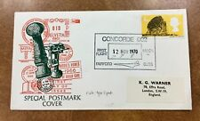 {BJ Stamps} 1970 Concorde First flight cover Great Britain  Fairford