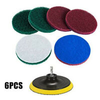 Tile Grout Power Scrubber Scrub Scumbusting Tub Cleaner Cleaning Drill Brush Kit