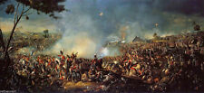 The Battle of Waterloo by William Sadler fine art on canvas