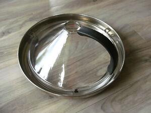 Börner Kitchen-Joy Spitzschutz aus Glas für Pfannen, Brathaube, sehr gut erhalte