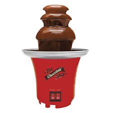 Chocolate Fountain Table Top Machine Party Food 3 Tier Cascading 22cmx14cm Red