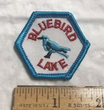 Bluebird Lake Rocky Mountain National Park Colorado CO Trail Tag Patch